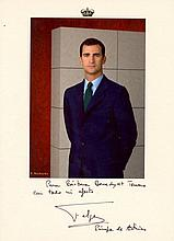 PHILIP VI: (1968-  ) King of Spain, succeeding to the throne in 2014 following the abdication of his father, King Juan C