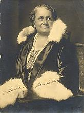MONTESSORI MARIA: (1870-1952) Italian Physician and Educator. A good vintage signed and inscribed 6.5 x 9 photograph, th