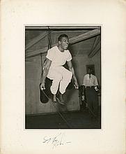 ROBINSON SUGAR RAY: (1921-1989) American Boxer,