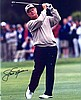 GOLF: Selection of signed pieces, cards, postcard