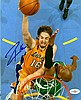 GASOL PAU: (1980- ) Spanish Basketball Player. Two