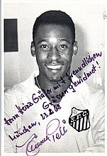 PELE: (1940- ) Brazilian Footballer. A good