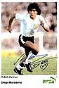 MARADONA DIEGO: (1960- ) Argentinean Footballer.