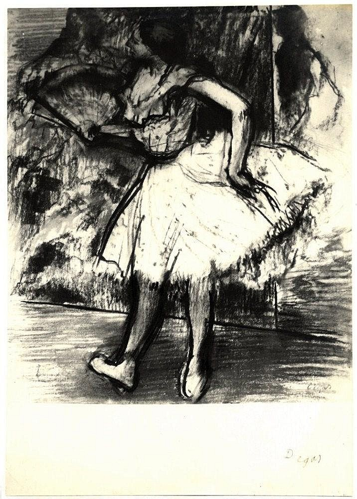DEGAS EDGAR: (1834-1917) French Impressionist