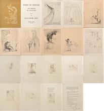 RONSARD (P. de): Les amours de Cassandre illustrés par Salvador Dali.