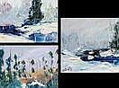 LABELLE, Fernand (1934-) Paysages Suite de 3