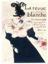 LAUTREC D'APRES LA REVUE BLANCHE ORIGINAL MUSEE D'ALBI
