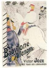 LAUTREC BABILON MUSEUM D'ALBI ORIGINAL LITHO D'APRE