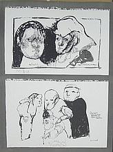 Jose Luis CUEVAS (1934) DR SINISTERE s/n littho
