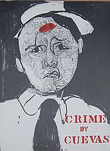 Jose Luis CUEVAS (1934) crime s/n littho