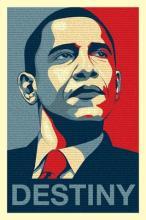 Obama destiny published by Piramidposter uk
