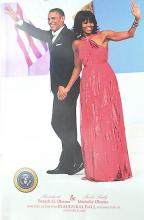 OBAMA AND MICHELL WAVING