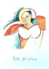 Pablo Picasso tete de Femme marina picasso collecion