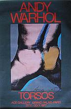 Andy Warhol (1928-1987) Torso offset lithograph