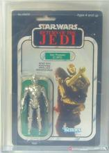 STAR WARS- C-3P0 REMOVABLE LIMBS, 1983, AFA 75