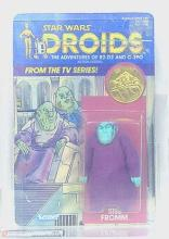 STAR WARS- SISE FROMM, DROID WITH COIN, 1985, AFA 50