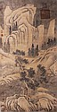 Chinese Scroll Painting, signed Liu Songnian (1174-1224), 19th Century or earlier