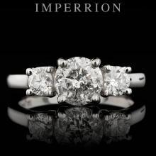 PLATINUM 1.65CT DIAMOND RING