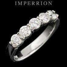 PLATINUM 1.00CT DIAMOND RING