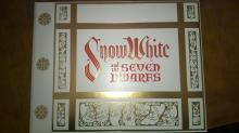 SNOW WHITE AND THE SEVEN DWARFS WALT DISNEY BOOK SERIGRAPH 1978