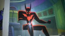 Animation art: Batman Beyond production cels
