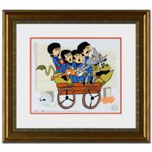 Animation art: The Beatles: Bullride Limited Edition Sericel