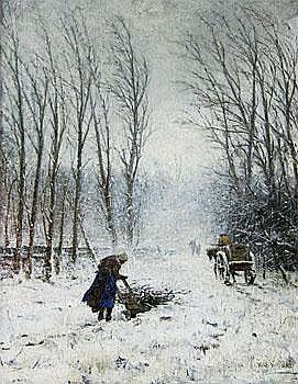Winter's Tale Petrus Van Der Velden