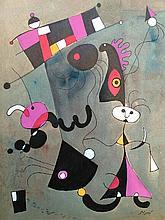 Joan Miro Spanish (1893-1983) Abstract