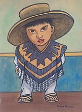 Diego Rivera Mexican (1886-1957) Campesino