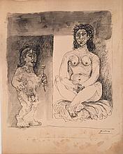 Pablo Picasso(1881-1973)  Spanish ATTR