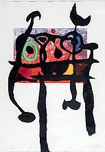 Joan Miro (Spanish 1893-1983) Le Samourai