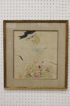 w/c depicting a fashion lady, dated 1930, signed