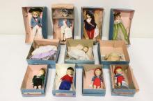 11 Madame Alexander dolls