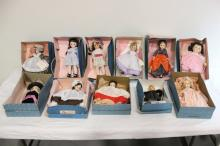 11pc Madame Alexander dolls