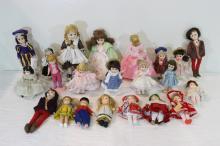 24 Madame Alexander dolls