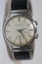 A rare Girard Perregaux man's alarm wrist watch