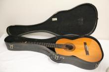 Vintage acoustic guitar by Yairi gawky, c1970