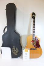 Gibson custom acoustic guitar in original box