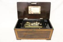 19th century Swiss made music box