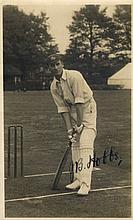 AUTOGRAPHS: HOBBS JACK: (1882-1963) English