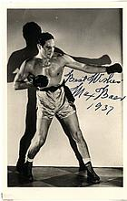 AUTOGRAPHS: BOXING: A good, small group of signed