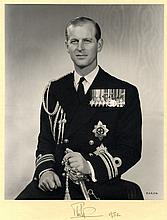 AUTOGRAPHS: PRINCE PHILIP: (1921- ) Duke of