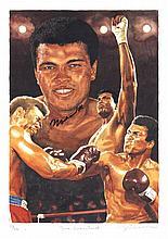 AUTOGRAPHS: ALI MUHAMMAD: (1942- ) American Boxer,