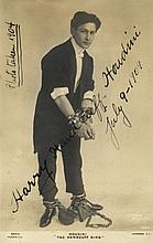 AUTOGRAPHS: HOUDINI HARRY: (1874-1926)