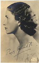 AUTOGRAPHS: ACTRESSES: Selection of vintage signed