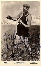 AUTOGRAPHS: BOXING: Small selection of vintage