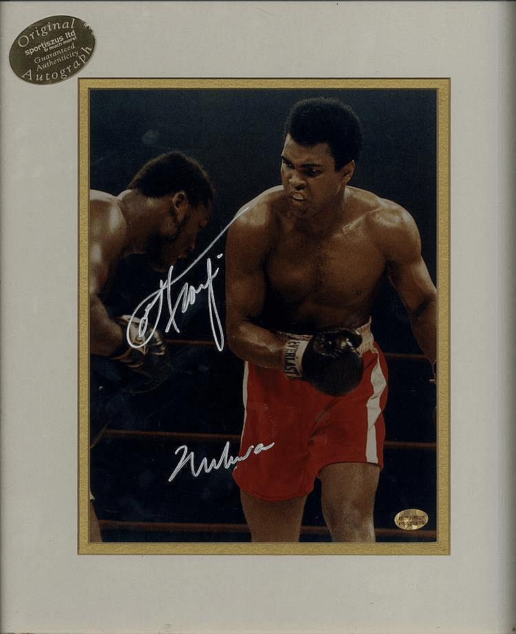 ALI MUHAMMAD: (1942- ) American Boxer, World