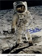 ALDRIN BUZZ: (1930- ) American Astronaut, Lunar