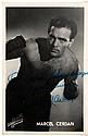 CERDAN MARCEL: (1916-1949) French Boxer, World