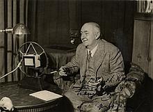 WALLACE EDGAR: (1875-1932) English Writer, remembe